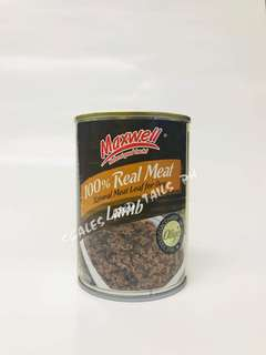 Maxwell Canned Dog Food - Lamb Flavor - 375g