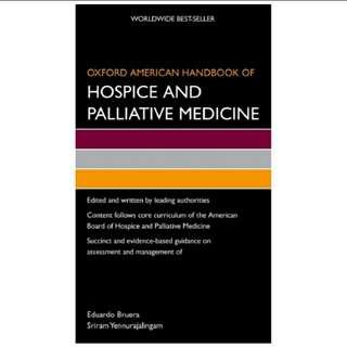eBook Oxford American Handbook of Hospice and Palliative Medicine