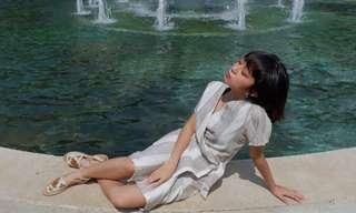 Wrap Kimono Dress by @Pyrusandspruce