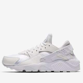 nike all white huraches