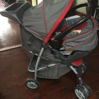 Gracco Stroller & car seat & carrier (VERY GOOD CONDITION)