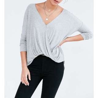 Urban Outfitters Surplice Top xs