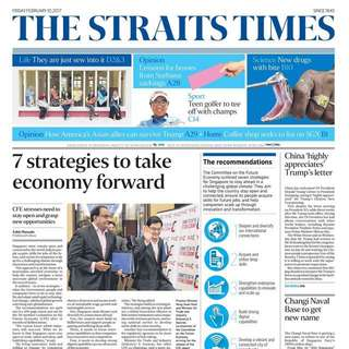 Straits Times Subscription