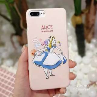 🎉購買兩個以上特價🎉 Iphone case -  Alice in Wonderland 愛麗絲 電話殼