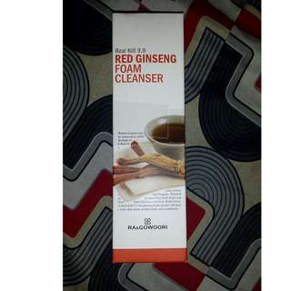RA & Gowoori Red Ginseng Foam Cleanser