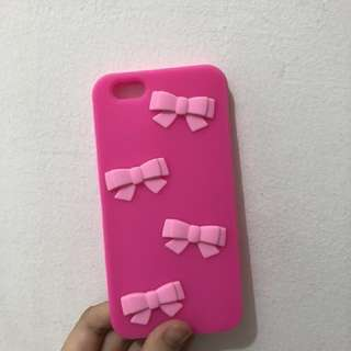 Forever 21 Pink Ribbon Case Iphone 6/6s