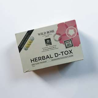 NEW Wild Rose Herbal D-Tox