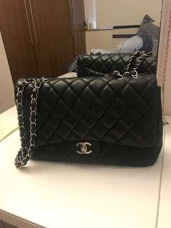 Chanel classic black Flap 2.55