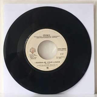 """Prince – I Wanna Be Your Lover 7"""" (1979 USA Original - Vinyl is Very Good)"""