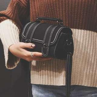 (Pre-order) Women Fashion Sling Bag (Black) #509