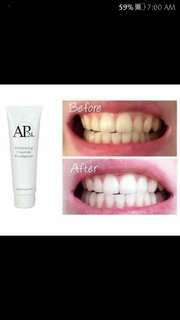 AP24 flouride whitening toothpaste