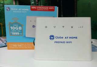 DISCOUNTED PRICE GLOBE HOME PREPAID WIFI