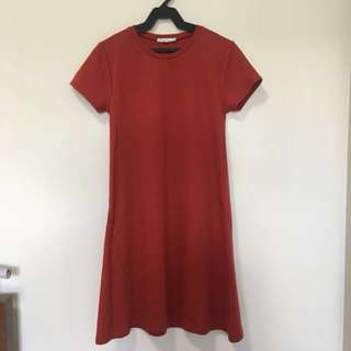 REPRICED! Zara Red Dress
