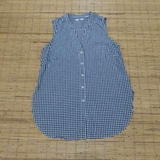 Uniqlo sleeveless cotton