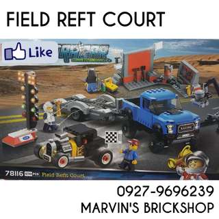 For Sale Ultra Car Field Reft Court Building Blocks Toy