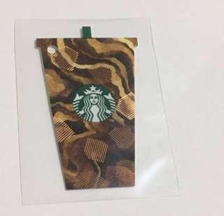 Starbucks Card Hongkong New --> No Value