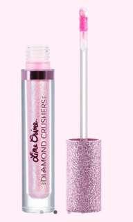 Lime Crime Diamond Crusher in Choke. Iridescent Lip Topper lipstick lip gloss full size