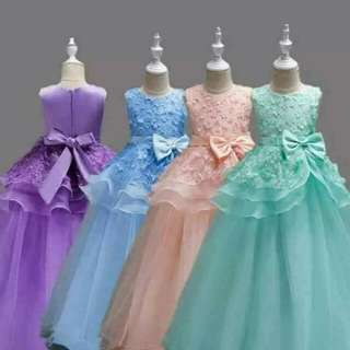Kids Gown  110 To 160cm