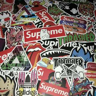 Sticker waterproof High Quality Luggage Stickers - Streetwear brands and labels Decals