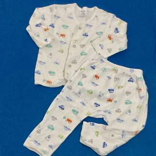 Pyjamas 6-12 Months Sleepwear 1 Set Long Pant Long Sleeve