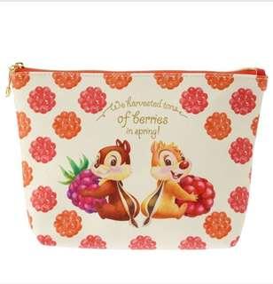 🇯🇵日本代購 迪士尼 Disney chip n dale 大鼻與鋼牙 化妝袋 筆袋 小物袋