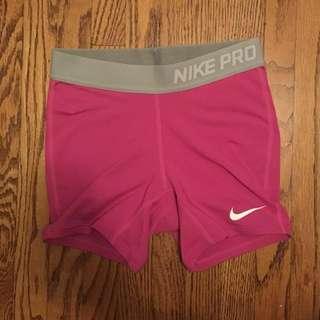 Pink & Grey Nike Pro *REDUCED*