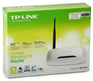 WiFi Router TP-Link 150Mbps (兩部共$100)