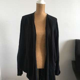 American Apparel black cardigan