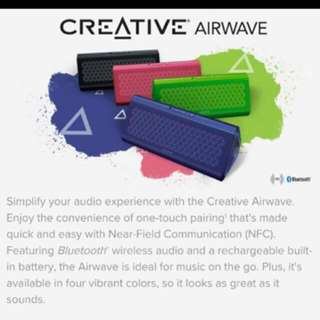 CREATIVE - Airwave Portable Wireless Speaker