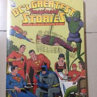 Dc greatest 11 imaginary stories comics graphic book