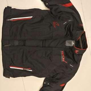 Taichi mesh riding jacket