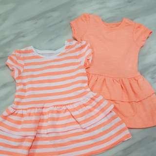 Mothecare Baby Girl Dress 2pcs