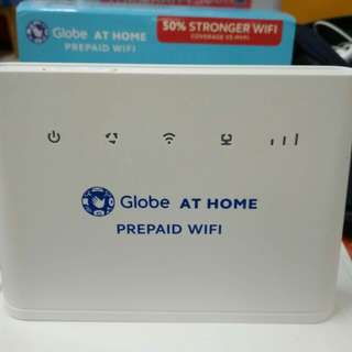 Prepaid Globe Wifi (modem)