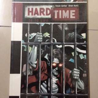 Hard time 50 to life comics book graphic novel