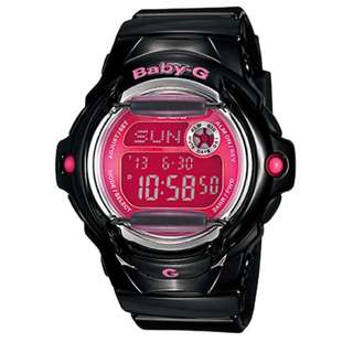 Preorder Casio Baby-G Women's Black Resin Strap Watch BG169R-1B
