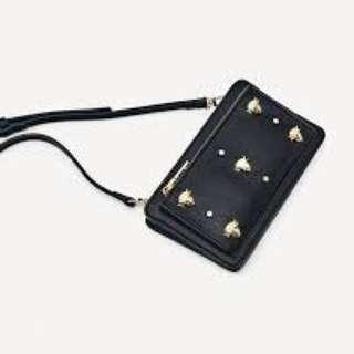 Looking for Zara Crossbody Bag with Metal Trim