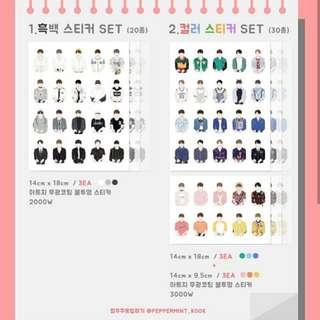 Jungkook closet sticker