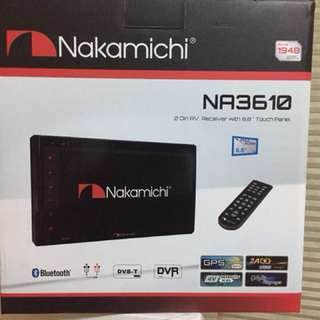 Nakamichi NA3610 DVD with Bluetooth