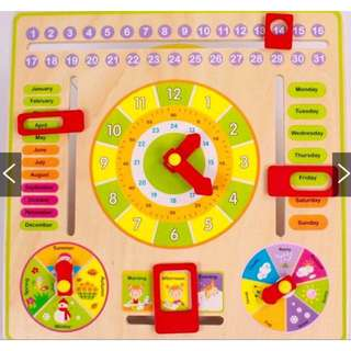 [FREE POSTAGE SM] Educational Toys learning cart
