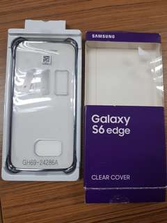 Samsung s6 edge clear cover