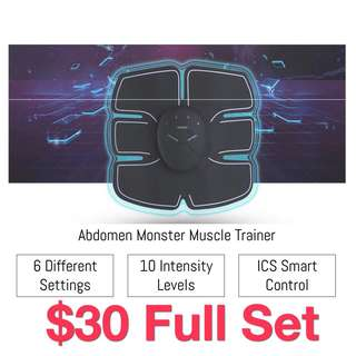 🎉EMS simple home gym abs and arms muscles Trainer