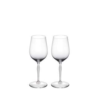 LALIQUE 100 POINTS UNIVERSAL GLASS (Set of TWO)