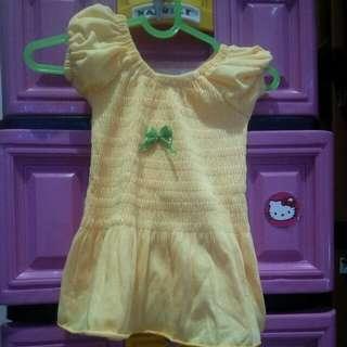 #makintebel Baju bayi 0-9 month