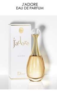 J'ADORE Dior Eau De Parfume, 30ml (OPENED)