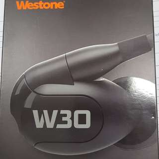 W30 Westone. 1.5yrs warranty left.
