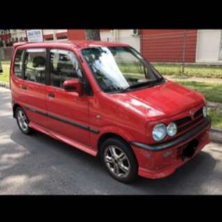 Perodua Kenari used / new parts for sale or export.