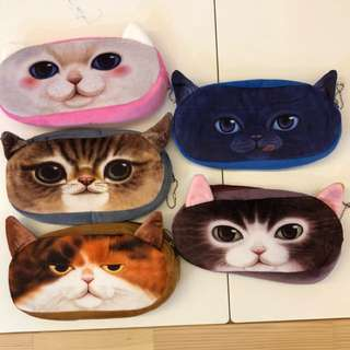 Kitty Cat Soft Pencil Case/Pouch