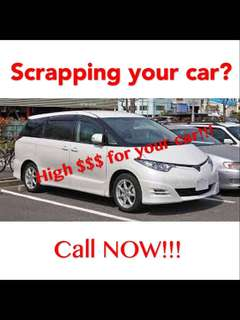 Cars wanted! Full cash for your going to be scrapped cars!