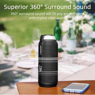 🎉 Tronsmart T6 Element loud surround sound speaker for music on the go