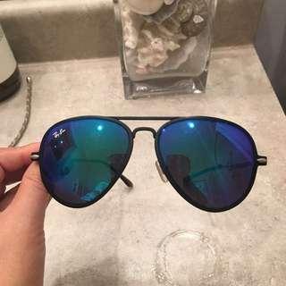 Authentic ray ban sunglasses aviator- needs repair